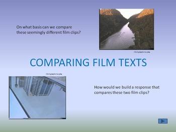 Comparative Texts - an exploration