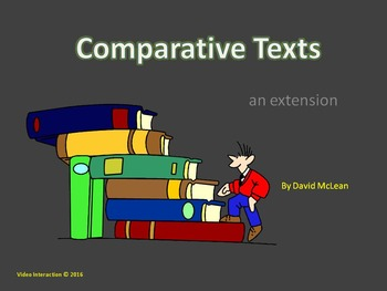 Comparative Texts - an exploration