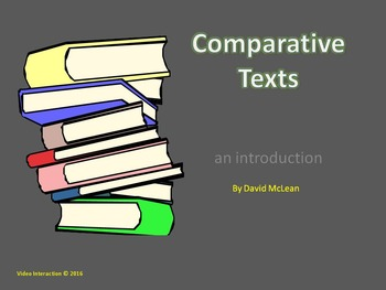 Comparative Texts - an introduction