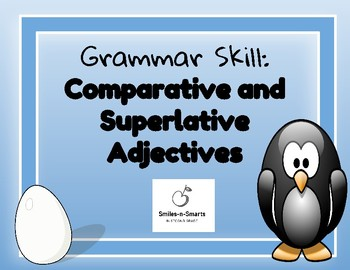 Comparative and Superlative Adjective Mini Unit