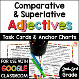 Comparing Adjectives Anchor Charts and Task Cards