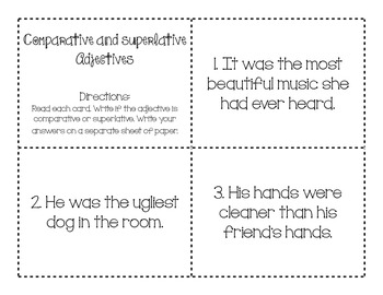 Comparative and Superlative Adjectives 2