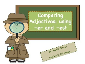Comparative and Superlative Adjectives B&W and Color