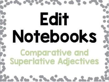 Comparative and Superlative Adjectives Grammar Practice