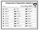 Comparative and Superlative Adjectives Grammar Task Cards,