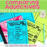 Comparative and Superlative Adjectives Interactive Notebook Print & Fold Booklet