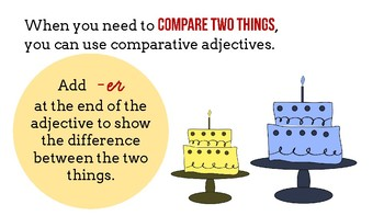 Comparative and Superlative Adjectives Lesson