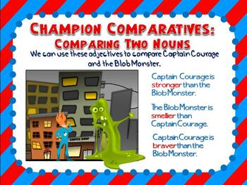 Comparative and Superlative Adjectives Mini Lesson PowerPoint