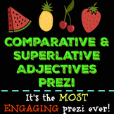 Comparative and Superlative Adjectives Prezi (with handout)