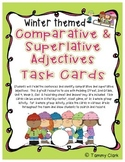 Comparative and Superlative Adjectives Task Cards