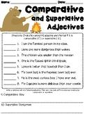 Comparative and Superlative Adjectives Worksheet  L3.1g