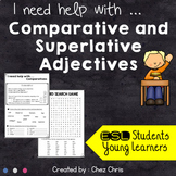 Comparative and Superlative Adjectives Activities, Worksheets and Games