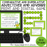 Comparative and Superlative Adjectives and Adverbs Game Center Activity