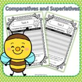 Comparative and Superlative Inflectional Endings | er and est worksheets