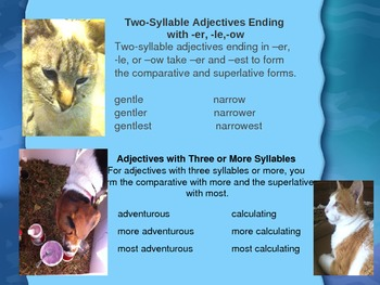 Comparative and Superlative Adjectives with Maggie and Boudreaux  Literacy.L.3.1