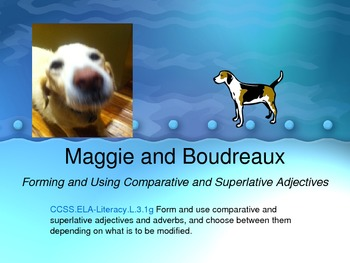 Comparative and Superlative Adjectives with Maggie and Bou