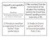 Comparative and Superlative Adverbs 1