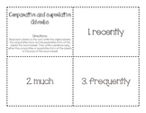 Comparative and Superlative Adverbs 2