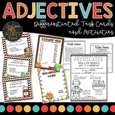 Comparative and Superlative Adjective Task Cards and Activities