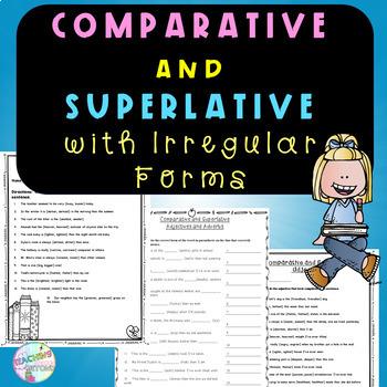 Comparative and Superlative with Irregular Form