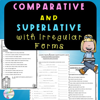 No-Prpe - Comparative and Superlative with Irregular Form
