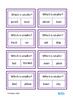 Autism, Comparatives Vocabulary Clip Cards, Special Education, ESL