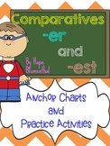 Comparatives -ER and -EST Word Work Pack