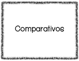 Comparatives Gallery Walk