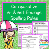 Comparatives & Superlatives Spelling Rules Adding Suffixes er & est