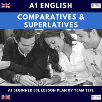 Comparatives and Superlatives A1 Beginner Lesson Plan For ESL