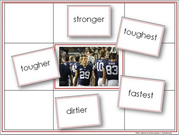 Comparatives and Superlatives ~ Building Powerful Writing with Story Mats