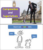 Comparatives and Superlatives: PPT, PDF Worksheet and Lesson Plan