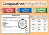 Comparatives and Superlatives Poster Activity