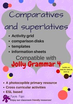Comparatives and superlatives starter pack