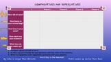 Comparatives and superlatives survey. Colour.