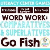 Go Fish: Comparatives (-er, -est)