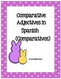 Comparativos-Comparatives in Spanish with a cute spring theme!