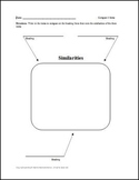 Compare 3 Items Graphic Organizer