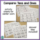 Compare!  a tens and ones game for math centers