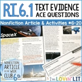 Citing Text Evidence RI.6.1 | SpaceX Article 6-20