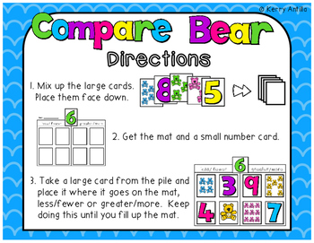 Compare Bear Math Center