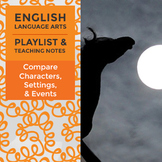 Compare Characters, Settings, & Events – Playlist and Teaching Notes