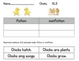 Compare Chicks Fiction and Nonfiction