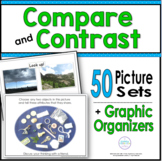 Compare and Contrast Graphic Organizers and Pictures