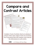 Compare & Contrast 6th Grade Articles