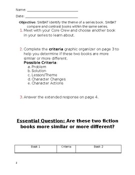 Compare & Contrast Academic Writing