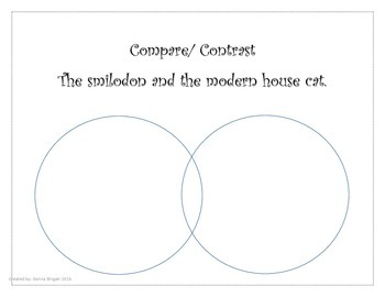 Compare/ Contrast Activity Venn Diagram