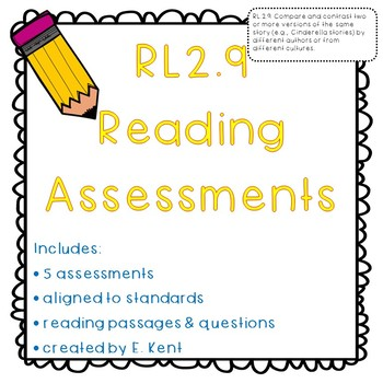 Compare & Contrast Assessments - RL2.9