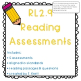 Compare & Contrast Literature Assessments - RL2.9