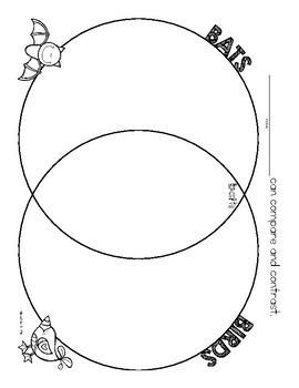 Compare contrast bats vs birds venn diagram freebie by allison birds venn diagram freebie ccuart Images